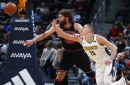 "Denver Nuggets center Nikola Jokic says his sprained ankle is ""getting better""; return timetable remains uncertain"