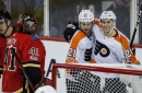 Flyers snap 10-game skid with 5-2 win over Flames (Dec 04, 2017)