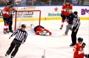 Panthers gain point, lose Luongo in 5-4 shootout loss to Islanders