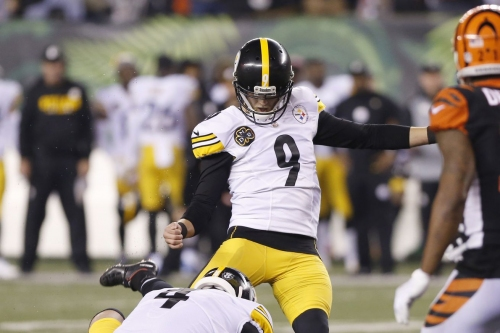 Chris Boswell named AFC Special Teams Player of the Week