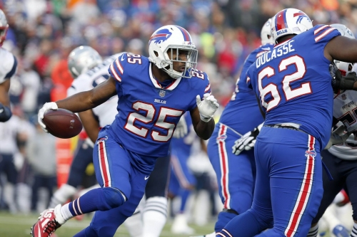 Buffalo Bills running game gets back on track against New England Patriots