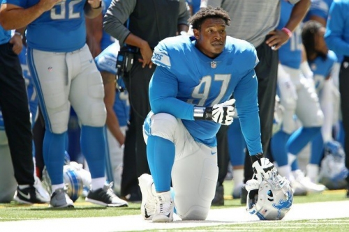 Lions DT Akeem Spence has some bitterness to unleash on the Buccaneers