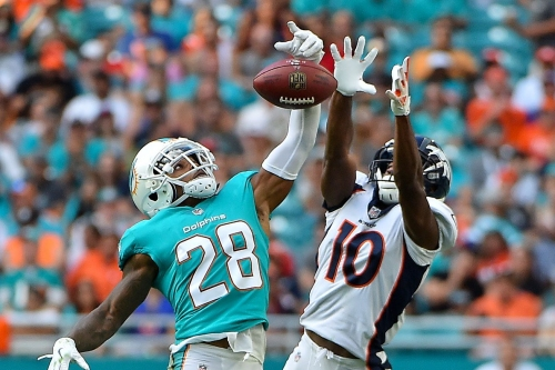 Denver Broncos and New York Jets injury report: Sanders and Leary sit out practice