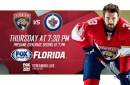 Preview: Without G Roberto Luongo, Panthers try to corral soaring Jets