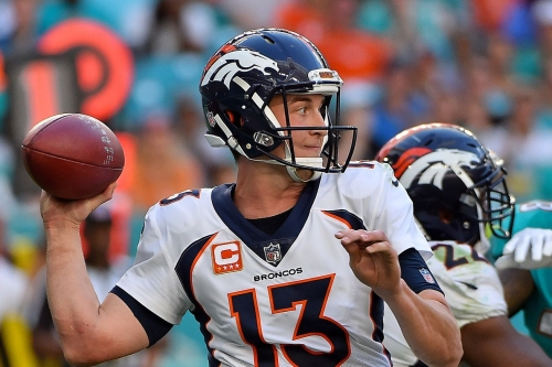With Trevor Siemian the Broncos are home underdogs to lowly Jets