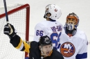 Hunwick leads Penguins to overtime win against Islanders (Dec 07, 2017)