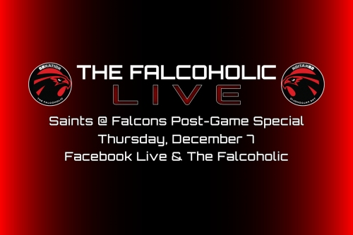 The Falcoholic Live: Saints @ Falcons Post-Game Special