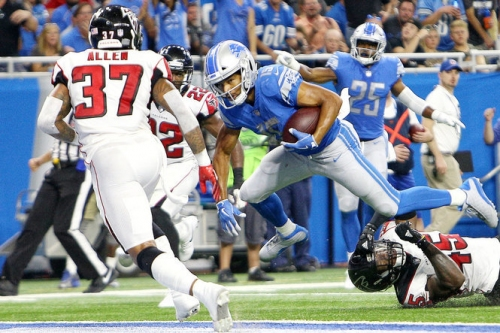 Lions' playoff chances fall to 8 percent after Falcons win