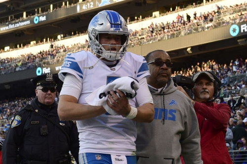 Detroit Lions injury report: Matthew Stafford, 9 others questionable vs. Buccaneers