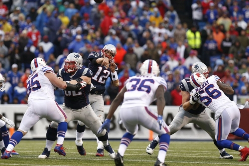 New England Patriots can claim the AFC East division crown this weekend