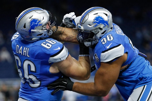 Lions activate G Joe Dahl from injured reserve, waive S Rolan Milligan