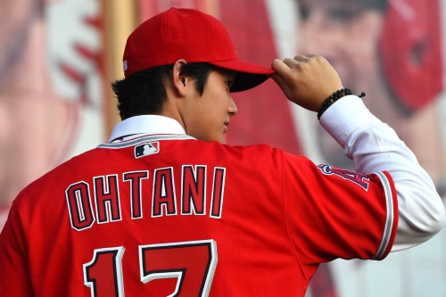 Shohei Ohtani introduced himself to Angels fans in the most perfect way possible