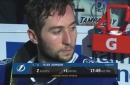 Tyler Johnson discusses capping off undefeated homestand