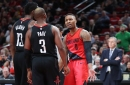 Injury-Plagued Blazers Come Up Short Against Rockets, 124-117