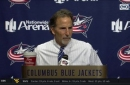 John Tortorella is happy with back to back wins for the Blue Jackets