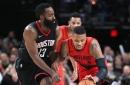 Harden Scores 48, Lillard 35 as Rockets Beat Blazers in Shootout