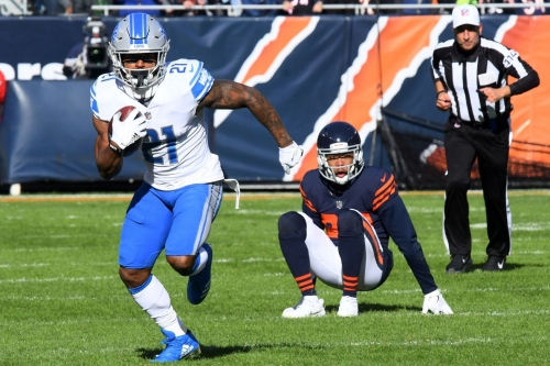 Detroit Lions RB Ameer Abdullah reportedly benched due to performance, not injury