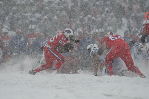 Watch: Buffalo Bills two-minute drive in the snow a thing of beauty
