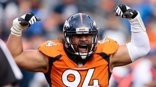 Domata Peko among Broncos' inactives for Week 14