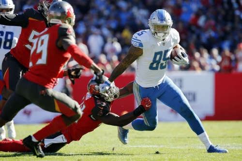 Recap: Lions fend off Buccaneers in turnover-fest, keep playoff hopes alive, 24-21