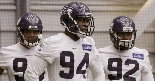 Report: Seahawk rookie Malik McDowell arrested in Atlanta for disorderly conduct