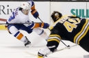 Islanders offense stymied in loss to Bruins