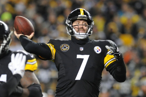 Steelers outlast Ravens in crazy shootout to win AFC North Championship