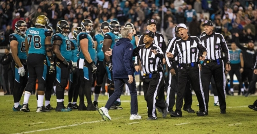 Sore losers? That's too soft a label for how the Seahawks reacted at the end of their loss to the Jaguars