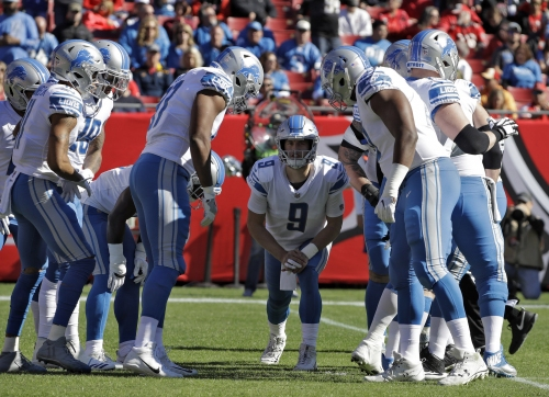 Playoff picture: The Lions need help, and just aren't getting it