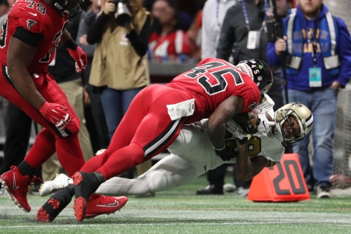 Defensive fortitude keeps destiny in the Falcons hands