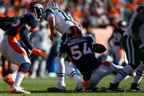 Brandon Marshall among 3 Broncos defenders who stood out in Week 14