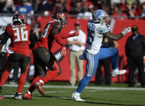 3 things we learned: The Lions are shaking things up at running back