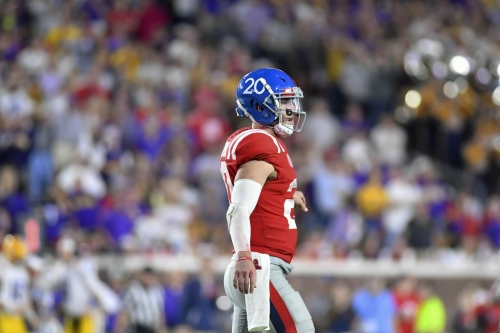 Shea Patterson will transfer from Ole Miss to Michigan