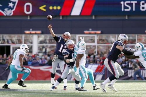 Patriots - Dolphins Week 14 Monday Night Football open thread