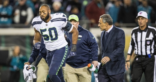 Seahawks Monday injury report: Bobby Wagner could be a gametime decision against the Rams Sunday