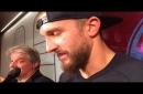 Watch as Red Wings' Luke Glendening fights Aaron Ekblad