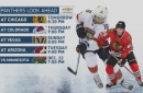 Panthers close out back-to-back against Blackhawks