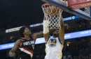 Warriors Withstand Rally, Hand Blazers Fifth Straight Loss