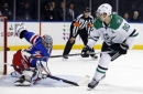 Stars start East Coast swing with 2-1 shootout win over the Rangers