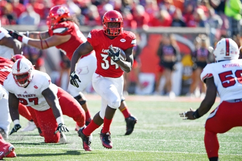 Louisville RB Jeremy Smith transferring