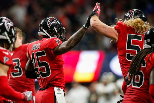 Observations from Falcons vs. Saints