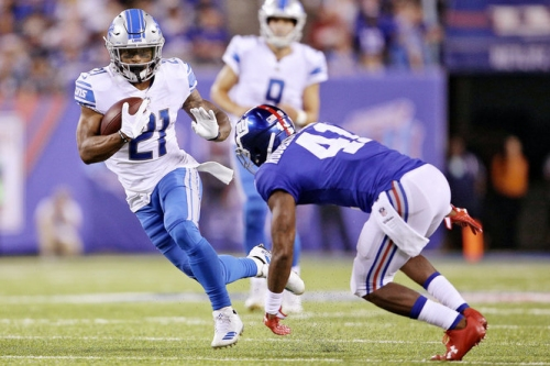 Lions RB Ameer Abdullah remains confident despite benching