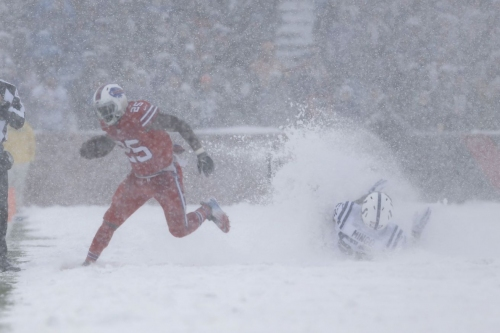 Witnessing the Buffalo Bills vs. Indianapolis Colts Snowvertime game in person was incredible