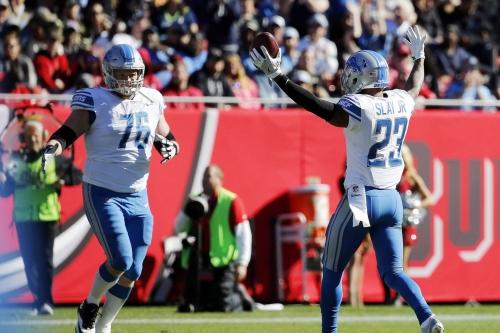 Lions notes: Watch Dan Orlovsky masterfully break down Darius Slay's interception
