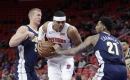 Big third quarter propels Denver Nuggets to win at Detroit Pistons