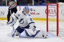 Andrei Vasilevskiy stops everything, Lightning top Blues to take sole possession of NHL points lead