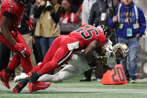 Pro Football Focus: Deion Jones was the NFL's highest rated linebacker in week 14