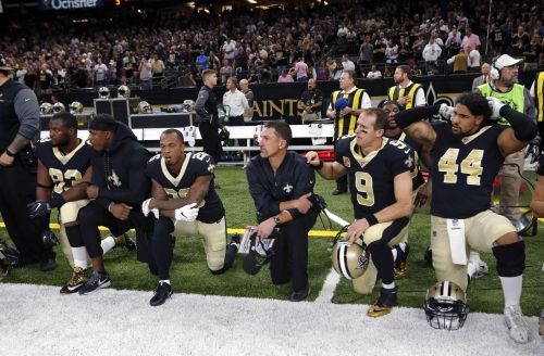 Saints season-ticket holder sues for refund over anthem protests