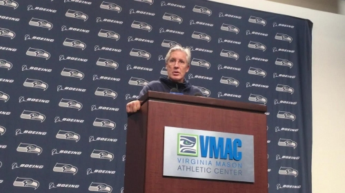 Seahawks notes: Pete Carroll says of Blair Walsh 'he's our guy'