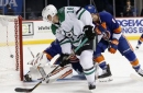 Pitlick, Benn lead Stars to 5-2 victory over Islanders